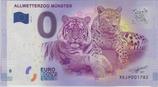 Billet touristique 0€ Allwetterzoo Munster tigre léopard 2017