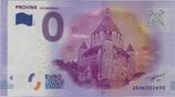 Billet touristique 0€ Provins Cité médiévale 2016