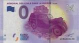 Billet touristique 0€ Mémorial des civils dans la guerre Falaise 2017