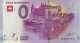 Billet touristique 0€ Swiss vapeur parc 2017