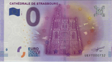 Billet touristique 0€ Cathédrale de Strasbourg 2016