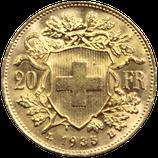 20 francs or Suisse