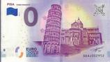 Billet touristique 0€ Pisa torre pendente 2018