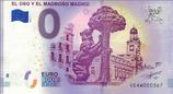Billet touristique 0€ El oso y el madrono Madrid 2018