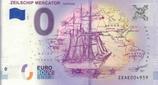 Billet touristique 0€ Zeilschip mercator 2018