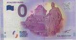 Billet touristique 0€ Schloss Burg chevalier lance 2017
