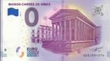 Billet touristique 0€ Maison carrée de Nîmes 2018