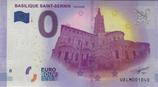 Billet touristique 0€ Basilique Saint Sernin Toulouse 2017