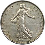 5 francs argent Semeuse 1959-1969
