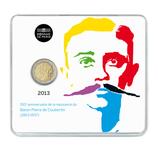 2 euros Coubertin  BU 2013