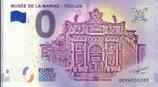 Billet touristique 0€ Musée de la marine Toulon 2018