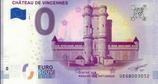 Billet touristique 0€ Château de Vincennes 2018