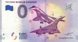 Billet touristique 0€ Technik museum Sinsheim 2018
