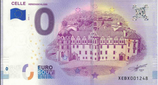 Billet touristique 0€ Celles Herzogschloss 2018