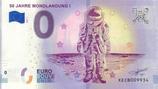 Billet touristique 0€ 50 jahre Mondlandung I 2018