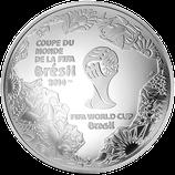 10 euros argent FIFA 2014