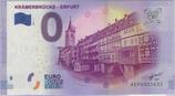 Billet touristique 0€ Kramerbrucke Erfurt 2017