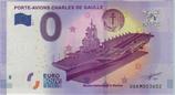 Billet touristique 0€ Porte avions Charles de Gaulle 2017