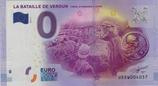 Billet touristique 0€ La bataille de Verdun 9 mois 36 semaines 6 jours 2016