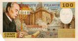 Billet Factice 100 francs François Mitterrand