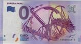 Billet touristique 0€ Europa park 2016