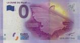 Billet touristique 0€ La dune du Pilat 117m 2017