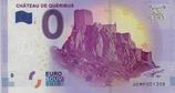 Billet touristique 0€ Chateau de Quéribus 2017
