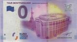 Billet touristique 0€ Tour Montparnasse Observatoire panoramique 2016