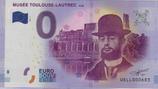 Billet touristique 0€ Musée Toulouse Lautrec Albi 2017