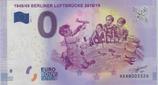 Billet touristique 0€  1948 49 Berliner luftbrucke 2018 19 2017
