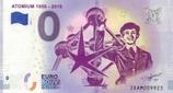 Billet touristique 0€ Atonium 1958-2018 2018