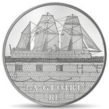 10 euros argent La Gloire 2013