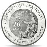 10 euros argent Judo JO d'été 2012