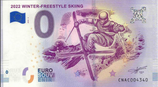 Billet touristique 0€ 2022 Winter Freestyle skiing 2018