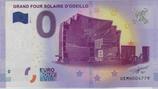 Billet touristique 0€ Grand four solaire d'Odeillo 2017