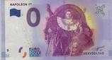 Billet touristique 0€ Napoléon Ier 2016