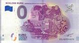 Billet touristique 0€ Schloss Burg 2018