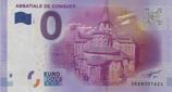 Billet touristique 0€ Abbatiale de Conques 2016