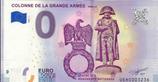 Billet touristique 0€ Colonne de la grande armée Wymille 2018