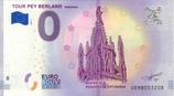 Billet touristique 0€ Tour Pey Berland Bordeaux 2018