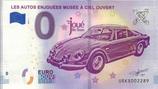Billet touristique 0€ Les auto enjouées Musée à ciel ouvert 2018