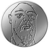 Médaille Thomas Schütte Mini-médaille Alte Freunde 2019