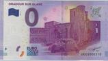 Billet touristique 0€ Oradour sur Glane 2017