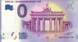Billet touristique 0€ Berlin Brandenburger tor 2018