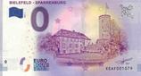 Billet touristique 0€ Bielefeld Sparrenburg 2018