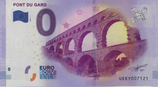 Billet touristique 0€ Pont du Gard 2017