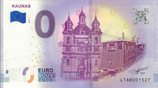 Billet touristique 0€ Kaunas 2018