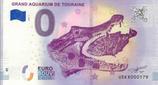 Billet touristique 0€ Grand aquarium de Touraine 2018