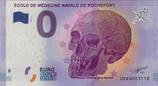 Billet touristique 0€ Ecole de médecine navale de Rochefort 2017