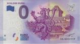 Billet touristique 0€ Schloss Burg blason 2017